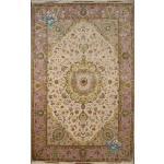 six meter Tabriz carpet Handmade Marallan Design