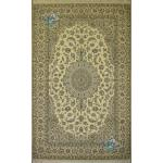 Pair six meter Naein carpet Handmade Medallion Design