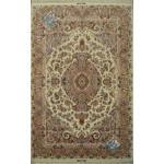 Pair six meter Tabriz carpet Handmade Khatibi Design