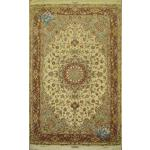 Six Meter Tabriz Handwoven Silk & Softwool