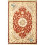 Six meter Tabriz Carpet Handmade Oliya Design