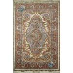 Six Meter Tabriz Carpet Handmade Mojemehr Design