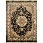 Rug Tabriz Carpet Handwoven Taghizadeh Design