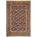 Rug Qom Carpet Handmade Throughout Design