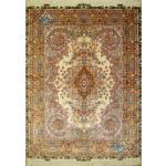 Rug Tabriz Carpet Handmade Mojemehr Design