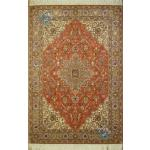 Rug Tabriz Carpet Handmade Silk & Softwool