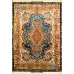 Rug Tabriz Carpet Handmade Moj-e-mehr Design Silk & Softwool