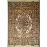Rug Tabriz Carpet Handmade Kohan Design Silk & Softwool