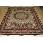 Rug Tabriz Carpet Handmade Dom Design Silk & Softwool