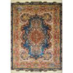 Rug Tabriz Carpet Handmade Mojemehr Design Silk & Soft Wool