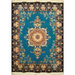 Rug Tabriz Handwoven Carpet Safariyan Design