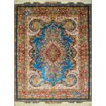 Rug Tabriz Handwoven Carpet Mojemehr Design
