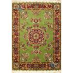 Rug Tabriz Carpet Handmade Gharebaghi  Design