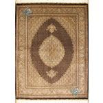 Pair Rug Tabriz Carpet Handmade Mahi Design