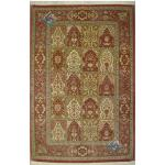 Rug Qom Carpet Handmade Adobe Design