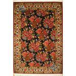 قالیچه دستباف بختیاری طرح گل رز سراسری اعلا باف