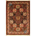قالیچه دستباف بختیاری طرح خشتی  اصیل رنگ گیاهی