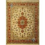 Pair Rug Tabriz Carpet Handmade Beheshti Design