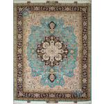 Rug Tabriz Carpet Handmade New Heris Design