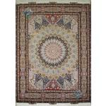 Rug Tabriz Carpet Handmade Dome Design