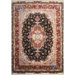 Pair Rug Tabriz Carpet Handmade Neshat Design