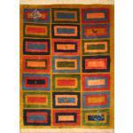 Zar-o-nim Ghashghai Gabbeh Nomadic Weavers