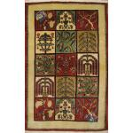 Zar-o-nim Ardebil  Handwoven Carpet Kheshti Design