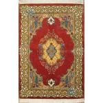 Zar-o-nim Tabriz Carpet Handmade Simple floor Design