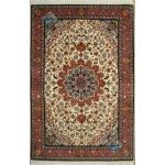 Zar-o-nim Tabriz Carpet Handmade Zohreh Design