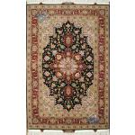 Zar-o-nim Tabriz Carpet Handmade Heris Design