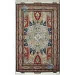 Zar-o-Nim Tabriz Carpet Handmade Dome Design