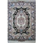 Zar-o-Nim Tabriz Carpet Handmade Kohan Design