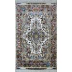 Zar-o-Nim Tabriz Carpet Handmade Khatibi Design