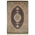 Zar-o-Nim Tabriz Carpet Handmade New Mahi Design