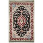 Zar-o-Nim Tabriz Carpet Handmade Behbood Design
