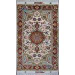 Zar-o-charak Carpet Handwoven Tabriz Oliya Design