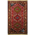 Mat Yalameh Carpet Handmade Three Dock Design