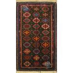 Mat Yalameh Carpet Handmade Flower Design All Wool