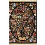 Tableau Carpet Handwoven Qom life Tree Design all Silk