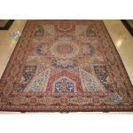 Nine Meter Tabriz Carpet Handmade Dome Design