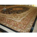 Nine Meter Tabriz Carpet Handmade Gholriz Design
