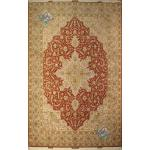 Nine meter Tabriz Carpet Handmade Heris Design