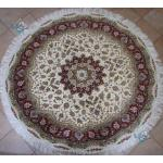 Circle Tabriz Handwoven Carpet Taghizadeh Design