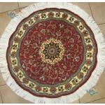 Circle Tabriz Handwoven Carpet Taghizadeh  Design