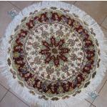 Circle Tabriz Handwoven Carpet Golmehr Design