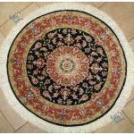دایره دستباف تبریز قطر یک متر نقشه جدید علیا چله و گل ابریشم