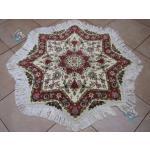 Star Tabriz Carpet Handmade Flower Design