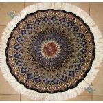 Circle Tabriz Handwoven Carpet Dome Design