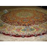Circle Tabriz Handwoven Carpet Safi Design