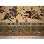 پرده ای اصفهان چوگان میدان نقش جهان
